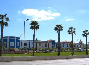 Algarve Shopping - View across the car park