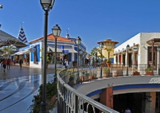 Algarve Shopping in Guia - first floor open plan shopping