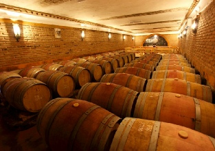 Wine cellars at Adega Do Cantor